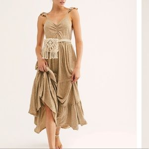 FREE PEOPLE Langley maxi dress
